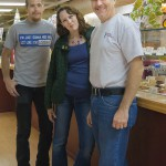 Mike Stepp and family at Donells Candies
