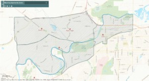 Opportunity Zones in Casper map image