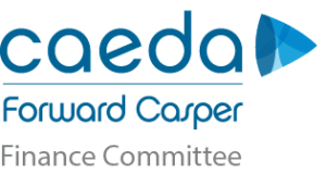 CAEDA - Forward Casper Finance Committee logo