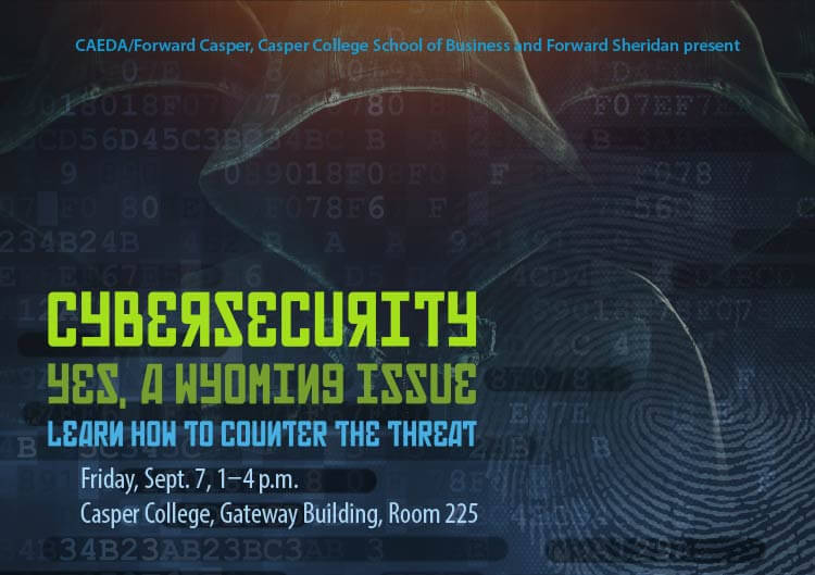 Cybersecurity title graphic