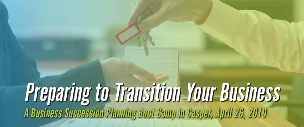 Business Succession Planning Boot Camp image