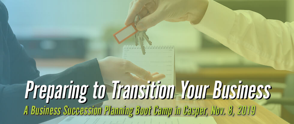 Exit Planning Boot Camp header image
