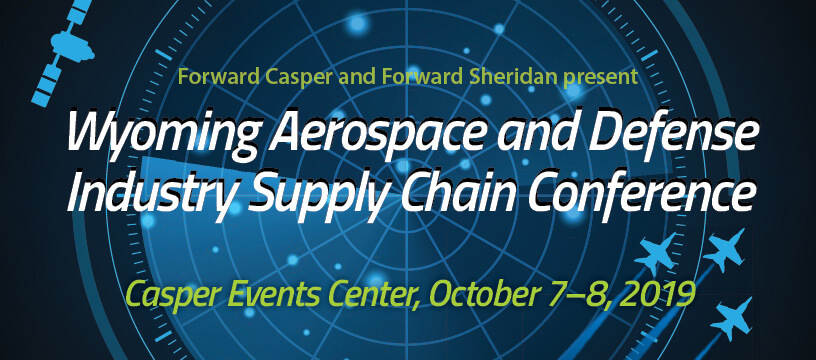Foward Casper Aerospace and Defense Conference title
